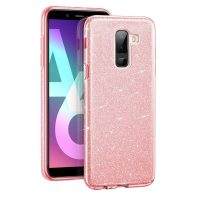 Capa Samsung Galaxy A6 Plus Purpurina Brilhante