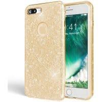 Capa iPhone 7 Plus / iPhone 8 Plus Brilhante - Dourado