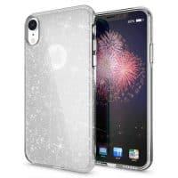Capa iPhone XR Purpurina Brilhante - Prata