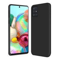 Capa Samsung Galaxy A51 A71 Silicone Liquido - Preto