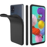 Capa Samsung Galaxy A71 Silicone Premium Preto