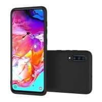 Capa Samsung Galaxy A20s Silicone Premium Preta