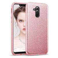 Capa Huawei Mate 20 Lite Brilhante - Dourado Rosa