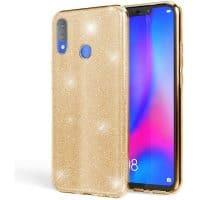 Capa Huawei P Smart 2019 Brilhante - Dourado