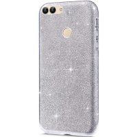 Capa Huawei P Smart Purpurina Brilhante - Prata