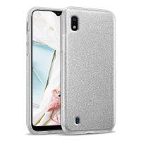 Capa Samsung Galaxy A10 Brilhante - Prata