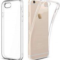 Capa iPhone 6s plus Silicone Premium Transparente