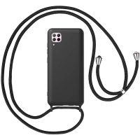 Capa Huawei P40 Lite com Cordão - Preta
