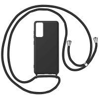 Capa Samsung Galaxy Note 20 com Cordão - Preto