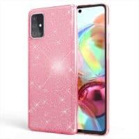 Capa Samsung Galaxy A71 Brilhante - Rosa