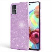 Capa Samsung Galaxy A71 Brilhante - Roxo