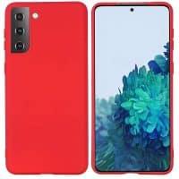 Capa Samsung Galaxy A72 5G Silicone Premium Vermelho