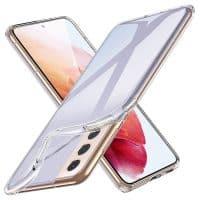 Capa Samsung Galaxy S21 5G Silicone Ultra Fino - Transparente