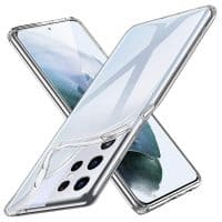 Capa Samsung Galaxy S21 Ultra Silicone - Transparente