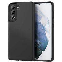 Capa Samsung Galaxy S21 Plus Silicone Ultra Fino - Preto