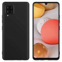 Capa Samsung Galaxy A42 5G Silicone Premium Preto