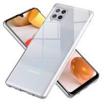 Capa Samsung Galaxy A42 5G Silicone Ultra Fino - Transparente