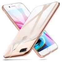 Capa iPhone 7 Plus | iPhone 8 Plus Silicone Ultrafino - Transparente