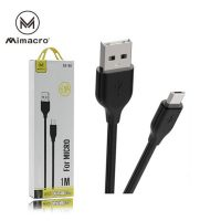 Cabo Micro USB para USB (SJX-168 Mimacro 2A - Preto)