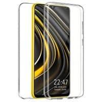Capa 360 Xiaomi Poco M3 - Full Cover Transparente