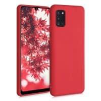 Capa Samsung Galaxy A31 Silicone Premium Vermelho