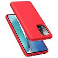 Capa Samsung Galaxy A52 5G Silicone Líquido Vermelho