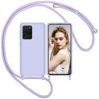 Capa Samsung Galaxy S20 Ultra com Cordão - Lilás