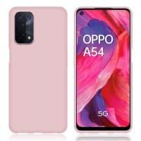 Capa Oppo A54 | A74 Silicone Líquido - Rosa