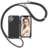 Capa Samsung Galaxy A22 4G com Cordão - Preto