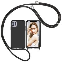 Capa Samsung Galaxy A22 5G com Cordão - Preto