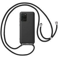 Capa Samsung Galaxy S20 Ultra com Cordão - Preto