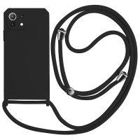 Capa Xiaomi Mi 11 Lite com Cordão - Preto