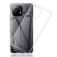 Capa Xiaomi Mi 11 Lite 4G&5G Silicone Ultrafino Transparente