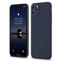 Capa iPhone 12 Pro Max iPhone 11 Pro Max Silicone Líquido Premium - Azul