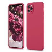 Capa iPhone 12 Pro Max iPhone 11 Pro Max Silicone Líquido Premium - Hibisco