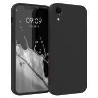 Capa iPhone XR Silicone Líquido Premium - Preto