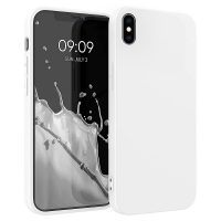 Capa iPhone X   XS Silicone Líquido Premium - Branco