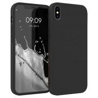 Capa iPhone X   XS Silicone Líquido Premium - Preto