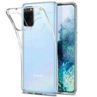 Capa Samsung Galaxy S20 Plus Silicone Premium - Cristal Transparente