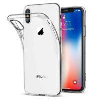 Capa iPhone X   XS Silicone Premium - Cristal Transparente