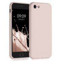 Capa iPhone 6 | 6S Silicone Líquido - Rosa Areia