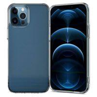 Capa iPhone 12 Pro Max Silicone Premium - Cristal Transparente