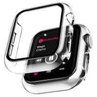 Capa Apple Watch 360º Antichoque Cristal Transparente