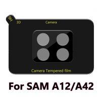 Película de Vidro Temperado Câmera Traseira Samsung Galaxy A12 A42 - Preto