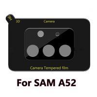 Película de Vidro Temperado Câmera Traseira Samsung Galaxy A52 | A52S - Preto