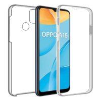 Capa 360 Oppo A15 - Full Cover Transparente